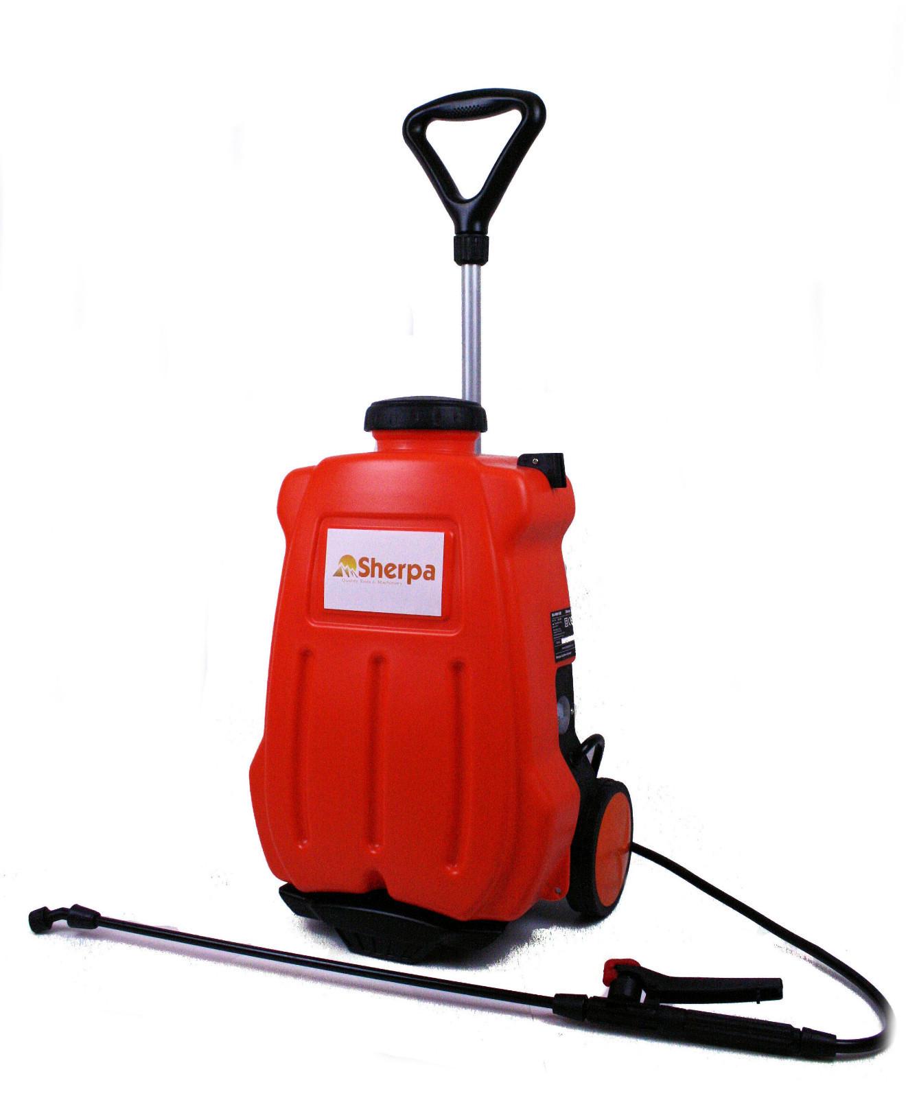 Sherpa Deluxe Multi Sprayer Cordless Powered Knapsack Combi Marketing Ltd Authorised Robomow