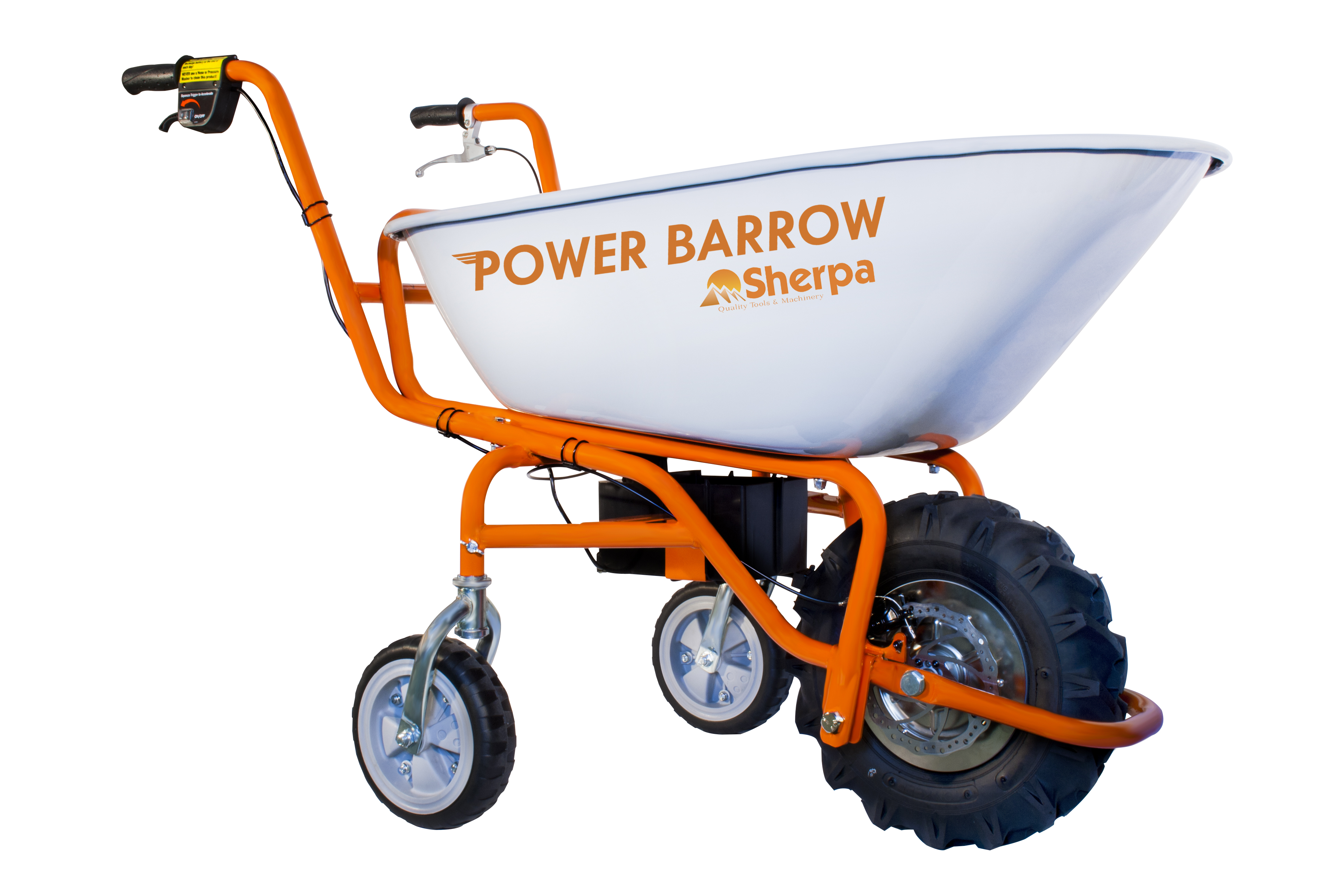 Self Propelled Cart >> Sherpa Power Barrow | Combi Marketing Ltd - Authorised ...